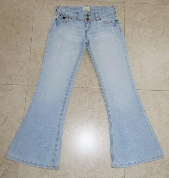Abercrombie Jeans Acampanado Para Niña Talla 12