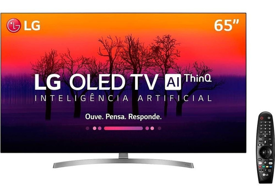 Smart Tv Oled 65 Ultra Hd 4k Lg Oled65b8ssc Ai, Wi-fi