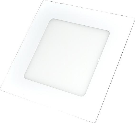 Panel Led Cuadrado Luz Blanca 6w Ahorrador 1702-46 /e