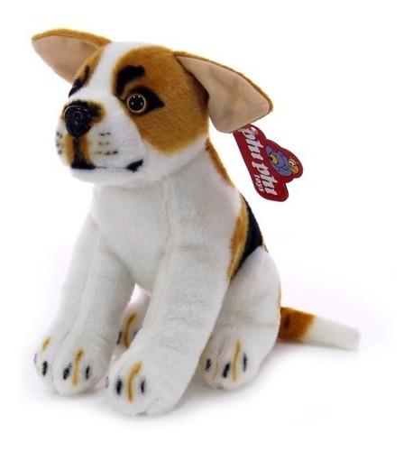 Imagen 1 de 4 de Peluche Perro Real Beagle Sentado 30 Cm. Phi Phi Toys