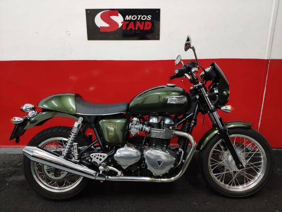 Triumph Thruxton 865 2015 Verde