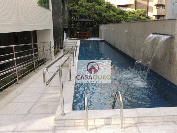 Cobertura 2 Quartos No Lourdes, Belo Horizonte. - Co0193