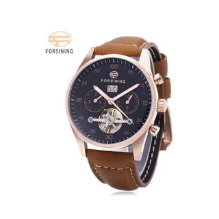 Modelo Varon Forsining A691 Hombre Tourbillon Reloj Mecánic