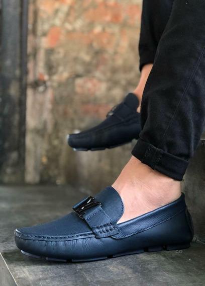 Zapatos Mocasin De Cuero Para Caballero Moda Colombiana
