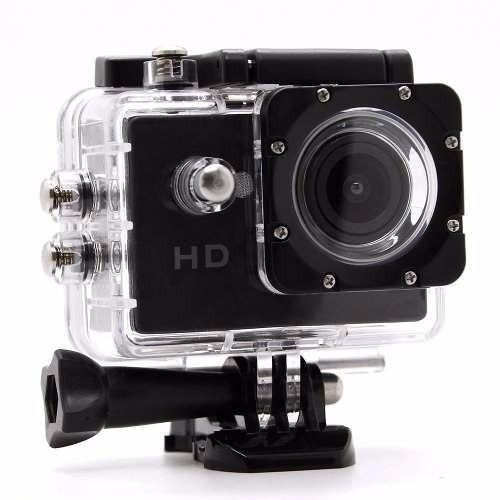 Kit 2 Câmera Filmadora 1080p Suporte Moto Bike Prova D