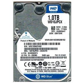 Hd 1tb Wd10jpcx Sata Iii 5400 Rpm 2.5 3.0gb/s Notebook 9mm