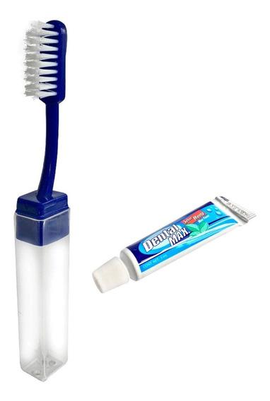 Kit Dental Cepillo De Viaje + Pasta Dental 5ml