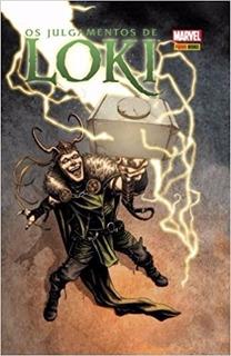 Hq - Os Julgamentos De Loki - Capa Dura