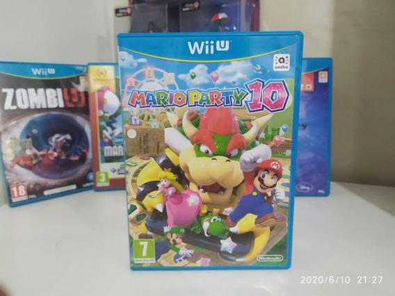 Mario Party 10 - Nintendo Wii U - Midia Fisica Europeu Pal