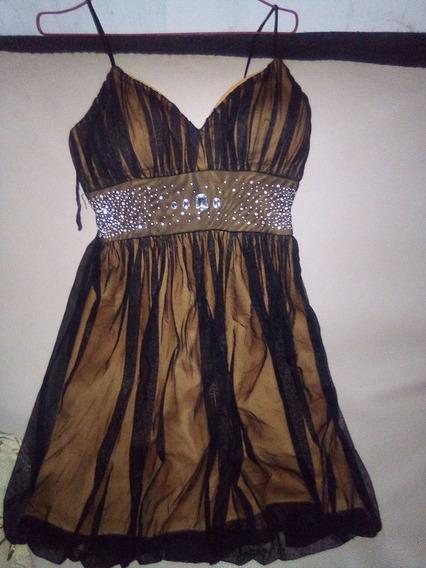 Hermoso Vestido De Fiesta Corto Talla M
