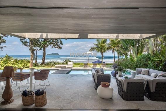 Casa Fantástica Na Praia Da Baleia !!!! - Di36117