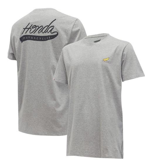 Camiseta Moto Honda Motorcycles - Coleção Asa Vintage - Produto Oficial