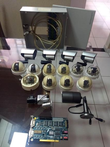 Sistema De Mini Cameras De Segurança