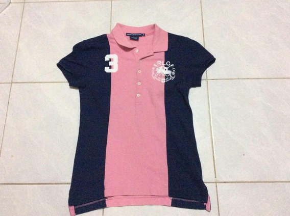 E Blusa Polo Ralph Laurent Talla S Mujer N-lacoste Hilfiger