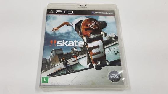 Jogo Skate 3 - Ps3 - Original - Midia Fisica