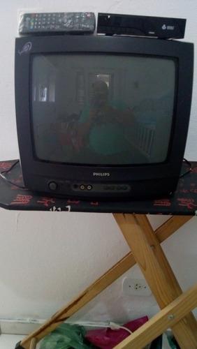Tv 14 Polegadas Philips, Com Conversor Digital.