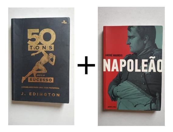 Combo Livro Napoleão + Livro 50 Tons Para O Sucesso Oferta