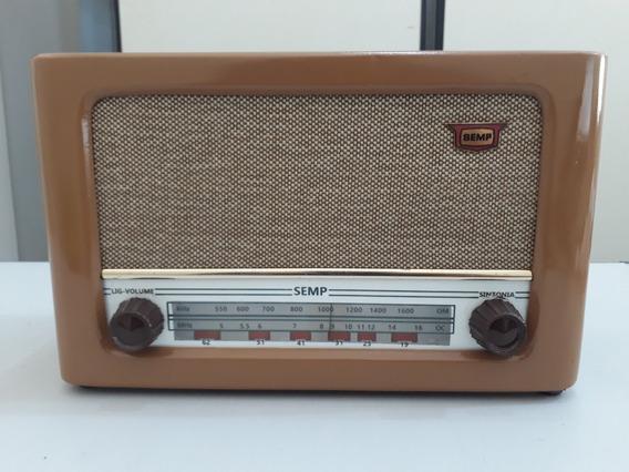 Rádio Vintage Semp Ac 242 Tapajós Ano 1963 Restaurado