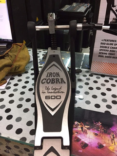 Pedal Doble Tama Hp600 Iron Cobra (nov)