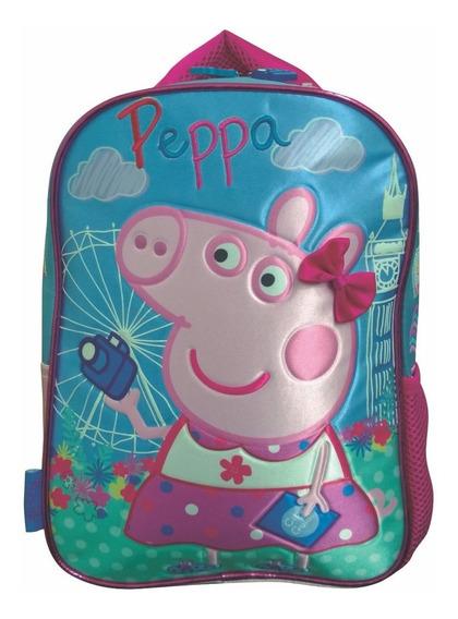 Mochila Espalda Jardin 12 PuLG Peppa Pig George Mundo Team