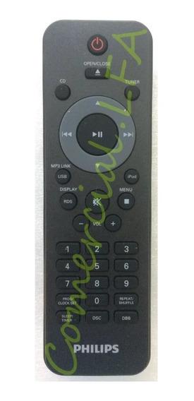 Controle Original Philips Micro System Hi-fi Dcm276 C/ iPod