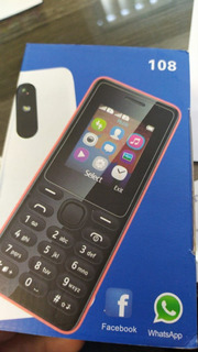 Celular Nokia 108 -nuevo-