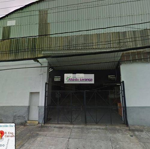Imagem 1 de 1 de Galpão, 1080 M² - Venda Ou Aluguel - Vila Gumercindo - São Paulo/sp - Ga0077