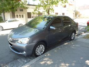 Toyota Etios Xls Sedan 4 Ptas Excelente Estado