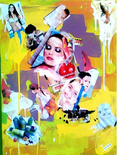 Imagen 1 de 2 de Pintura De Mujer