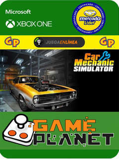 Car Mechanic Simulator Xbox One Modo Local + En Linea