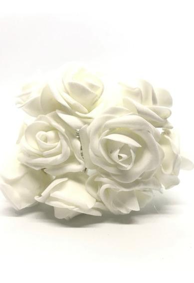 Cordão Flor Pisca12 Rosas Led Pilha Luminaria Colorido Festa