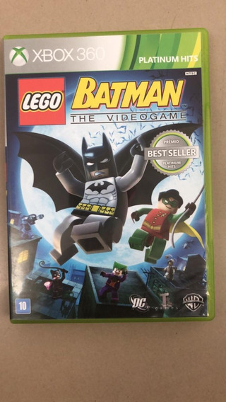 Lego Batman The Videogame Xbox 360 Usado