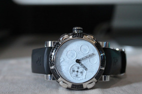 Relógio Romain Jerome Dna Moondust (papéis, Caixa, Etc)