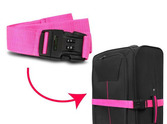 Cinturón De Seguridad Mc. Carthy Cic-1 Rosa