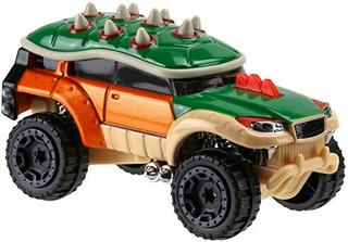Hot Wheels Jurrasic World Mario Brothers Bowser Vehículo
