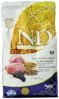 Farmina Natural And Delicious Lamb And Blueberry Lowgrain Fo