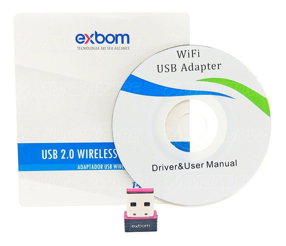 Adaptador Wireless Usb Nano 802.11 Placa De Rede Usb Sem Fio