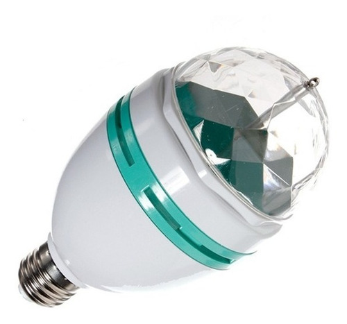 Lampara Rgb Led De Colores Giratoria 360 - Electroimporta -