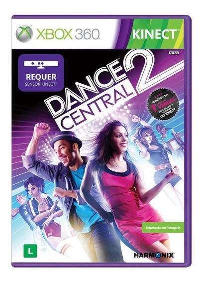 Jogo Dance Central 2 E Dance 3 Xbox 360 Originais Lacrados