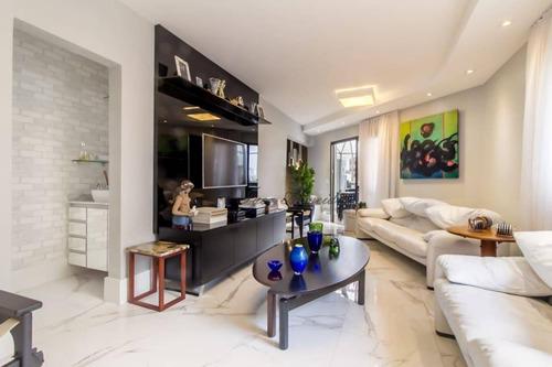 Imagem 1 de 21 de Cobertura Residencial Para Venda E Locação, Higienópolis, São Paulo - Co0029. - Co0029