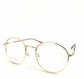 04417c683 Oculo Redondo Grau Dourado - Óculos com o Melhores Preços no Mercado ...