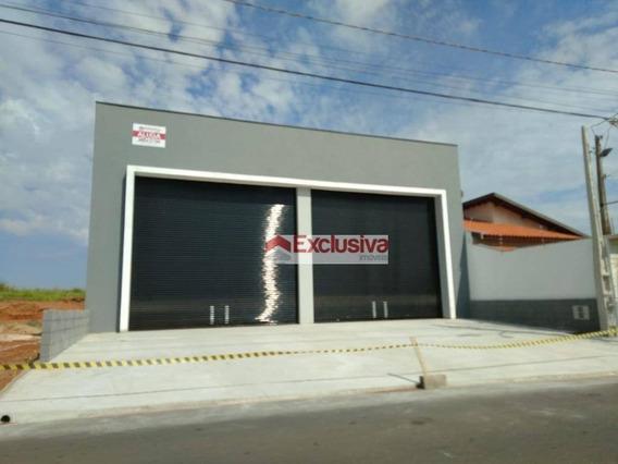 Salão Para Alugar, 350 M² Por R$ 6.500,00/mês - Parque Dos Servidores - Paulínia/sp - Sl0102