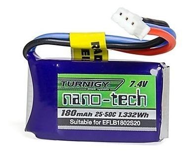 Batería Nano-tech 180mah 2s 25c E-flite, Eflb1802s20 Comp.