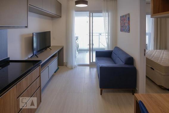 Apartamento No 4º Andar Mobiliado Com 1 Dormitório E 1 Garagem - Id: 892960005 - 260005