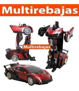 Transformer Lamborghini Carro Radio Control Musica