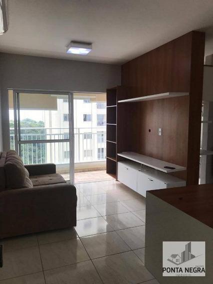 Apartamento Com 2 Dormitórios À Venda, 67 M² Por R$ 350.000 - Ponta Negra - Manaus/am - Ap0575