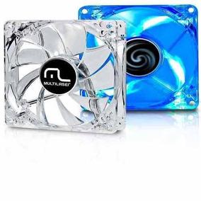 Ventilador Cooler Para Fan Led Azul 120x120 Multilaser