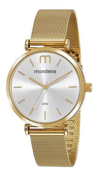Relógio Feminino Mondaine Dourado 53780lpmvde1