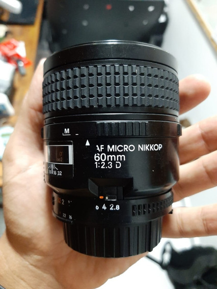 Lente Nikkor Nikon 60mm F2.8 [baixei Pra Vender Hoje!]