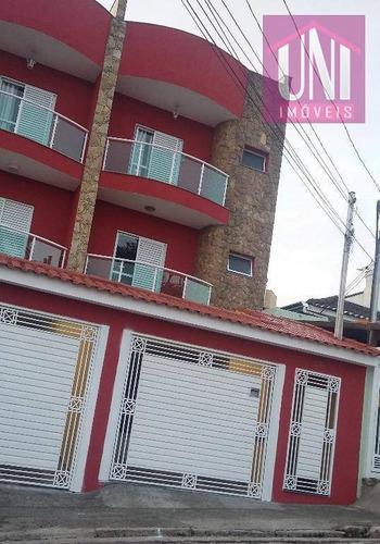 Cobertura  Residencial À Venda, Utinga, Santo André. - Co0324